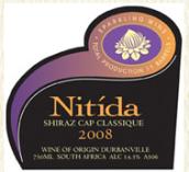 尼蒂达西拉开普经典起泡酒(Nitida Shiraz Cap Classique,Durbanville,South Africa)