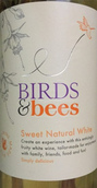 风之语自然甜白葡萄酒(Trivento Birds&Bees Sweet Natural White,Mendoza,Argentina)