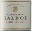 大宝陆军统帅干红葡萄酒(Connetable Talbot, Saint-Julien, France)