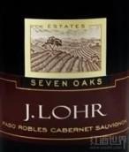 杰罗七棵橡木赤霞珠干红葡萄酒(J. Lohr Estates Seven Oaks Cabernet Sauvignon, Paso Robles, USA)