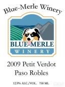 布鲁-莫尔味而多干红葡萄酒(Blue-Merle Petit Verdot,Paso Robles,USA)