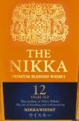 一甲12年顶级调和威士忌(The Nikka 12 Years Old Premium Blended Whisky,Japan)