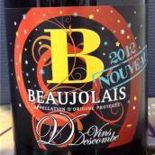 迪斯康贝博若莱新酒(Vins Descombe Beaujolais Nouveau,Beaujolais,France)