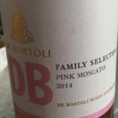 德保利家族精选莫斯卡托桃红葡萄酒(De Bortoli DB Family Selection Pink Muscato,Riverina,...)
