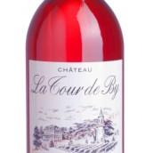 拉图璧酒庄桃红葡萄酒(Chateau La Tour de By Rose,Bordeaux,France)