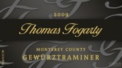 托马斯福格蒂琼瑶浆干白葡萄酒(Thomas Fogarty Gewurztraminer, California, Monterey, USA)