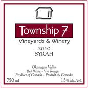 7号镇西拉干红葡萄酒(Township 7 Syrah,Okanagan Valley,Canada)