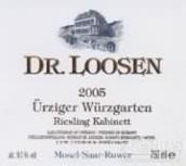 露森乌兹格园雷司令小房酒(Dr. Loosen Urziger Wurzgarten Riesling Kabinett, Mosel, Germany)