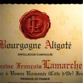 拉玛舒阿里高特干白葡萄酒(Domaine Francois Lamarche Aligote(blanc),Burgundy,France)