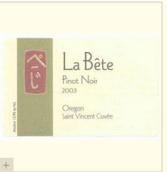 猛兽圣文森特岛特酿黑皮诺干红葡萄酒(La Bete Saint Vincent Cuvee Pinot Noir,Oregon,USA)