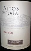 安第斯台阶普拉塔高原马尔贝克干红葡萄酒(Terrazas de los Andes Altos Del Plata Malbec, Mendoza, Argentina)