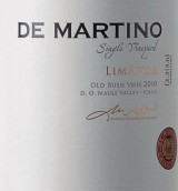 德马丁诺单一园利马维达干红葡萄酒(De Martino Single Vineyard Limavida Old Bush Vines,Maule ...)