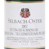 泽巴赫塞尔廷日晷园雷司令逐粒枯萄精选甜白葡萄酒(Selbach-Oster Zeltinger Sonnenuhr Riesling ...)
