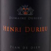 杜丽尔酒庄亨利普兰德迪干红葡萄酒(Domaine Durieu Henri Plan de Dieu,Cotes-du-Rhone-Villages,...)