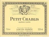 路易亚都小夏布利白葡萄酒(Louis Jadot Petit Chablis, Chablis, France)