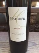 哈彻酒庄巴贝拉干红葡萄酒(Hatcher Winery Barbera,California,USA)