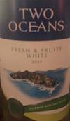 双洋清新型半甜白葡萄酒(Two Oceans Fresh&Fruity White,Western Cape,South Africa)
