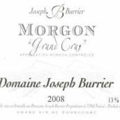 Domaine Joseph Burrier Morgon Grands Cras,Beaujolais,France