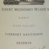 蒙大维珍藏赤霞珠干红葡萄酒(Robert Mondavi Winery Reserve Cabernet Sauvignon, Napa Valley, USA)