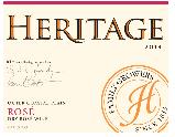 赫里蒂奇混酿桃红葡萄酒(Heritage Vineyards Blend Rose, New Jersey, USA)