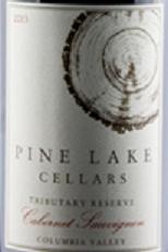 松湖朝贡系列珍藏赤霞珠干红葡萄酒(Pine Lake Tributary Reserve Cabernet Sauvignon, Columbia Valley, USA)
