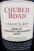 車路德酒莊梅洛赤霞珠干紅葡萄酒(Church Road Merlot Cabernet Sauvignon, Hawke's Bay, New Zealand)