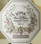 柯波拉索菲亚白中白起泡酒(Francis Ford Coppola Sofia Blanc de Blancs, Monterey County, USA)