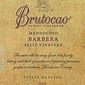 布鲁托卡酒庄费利斯园巴贝拉红葡萄酒(Brutocao Cellars Feliz Vineyard Barbera,California,USA)