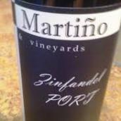 圣马丁诺仙粉黛波特风格加强酒(San Martino Winery Zinfandel Port,Texas,USA)