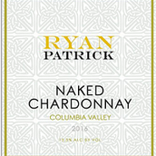 瑞安帕特里克赤裸霞多丽干白葡萄酒(Ryan Patrick Naked Chardonnay, Columbia Valley, USA)