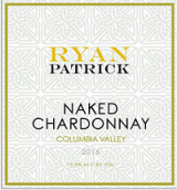 瑞安帕特里克赤裸霞多丽干白葡萄酒(Ryan Patrick Naked Chardonnay,Columbia Valley,USA)