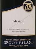 格露艾兰梅洛干红葡萄酒(Groot Eiland Merlot,Breedekloof,South Africa)