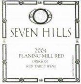 七山普朗宁米尔干红葡萄酒(Seven Hills Planing Mill Red table wine,Columbia Valley, USA)