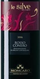 蒙卡洛西尔维德帕克干红葡萄酒(Moncaro Le Silve del Parco,Rosso Conero,Italy)