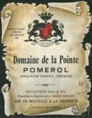 庞特酒庄干红葡萄酒(Domaine de la Pointe, Pomerol, France)
