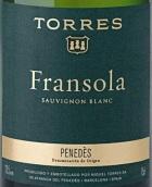 桃乐丝弗朗索拉园干白葡萄酒(Torres Fransola,Penedes,Spain)