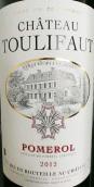 杜利弗酒庄干红葡萄酒(Chateau Toulifaut, Pomerol, France)