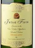 JJ朱丽叶菲罗莫斯卡托甜白葡萄酒(J&J Juliet Fiero Moscato,California,USA)