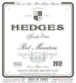 赫奇斯家族红山干红葡萄酒(Hedges Family Estate Red Mountain, Columbia Valley, USA)