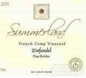 海岸情缘法国营园仙粉黛干红葡萄酒(Summerland Winery French Camp Vineyard Zinfandel,Paso Robles...)