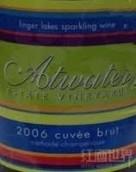 阿特沃特特酿起泡酒(Atwater Estate Vineyards,Cuvee Brut,Finger Lakes,USA)