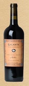 加朗特高级王牌马尔贝克干红葡萄酒(Galante Vineyards Ace High Malbec,Carmel Valley,USA)