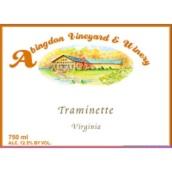 阿宾顿塔明内半甜白葡萄酒(Abingdon Traminette,Virginia,USA)