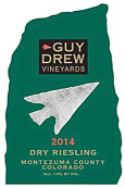 盖伊·德鲁酒庄罗素园雷司令干白葡萄酒(Guy Drew Vineyards Russell Vineyard Riesling,Colorado,USA)