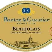 巴顿嘉斯蒂金牌博若莱干红葡萄酒(Barton&Guestier Gold Label Beaujolais Villages,Beaujolais,...)