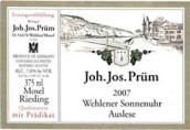 普朗温勒内日晷园长金瓶封雷司令精选白葡萄酒(Joh.Jos.Prum Wehlener Sonnenuhr Riesling Auslese Lange ...)
