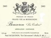 杰克逊布哲宏干白葡萄酒(Domaine Jacqueson Bouzeron Les Corderes,Cote Chalonnaise,...)