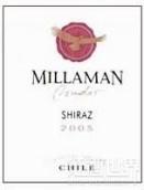 金鹰酒庄康多设拉子干红葡萄酒(Millaman Condor Shiraz, Central Valley, Chile)