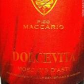 比科马卡里奥甜白起泡酒(Pico Maccario Dolcevita,Moscato d'Asti DOCG,Italy)