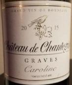 鸣雀卡洛琳娜干白葡萄酒(Chateau de Chantegrive Caroline, Graves, France)